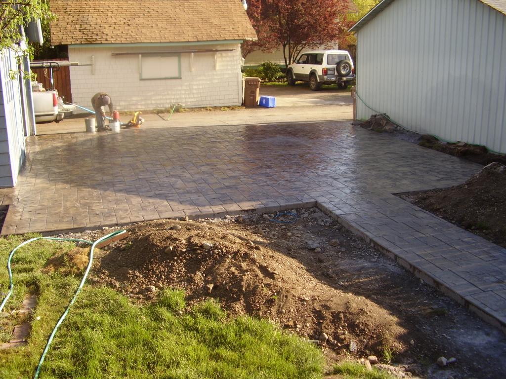 spokane stamped concrete services